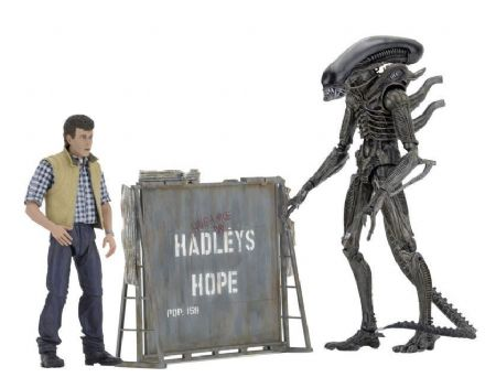 Aliens Hadleys Hope Set of 2 Action Figures